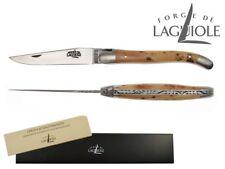 Forge de Laguiole Messer Taschenmesser 11cm Holzgriff Wacholder 1211F IN GE matt