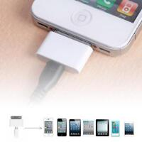 Female Micro USB To Male for Apple 30Pin iPhone 4 4S 3G 3GS Charger Adapter