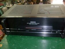 Onkyo M-5140 Stereo Power Amplifier / 2 Channels / Tested and Works - READ