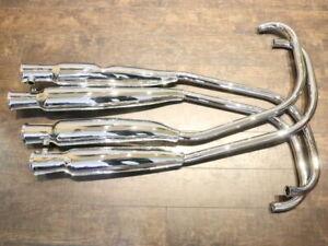 Honda CB 500 550 Four K0 K1 K2 Auspuffanlage Auspuff 4-4 exhaust muffler kit