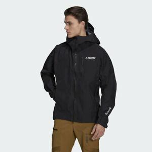 🔴🟡⚫🔵 Adidas Terrex TechRock GM4819 Gore-Tex Pro Mens Rain Jacket L MSRP $550