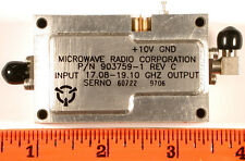 MICROWAVE SOURCE LO 17.08-19.10 GHz 8 dBm - SMA 4X Mult - *UNUSED* Qty:1