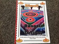 Diwali Resource  Hinduism book of rangoli patterns to colour