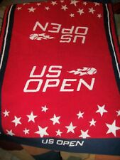 """Us Open Tennis Towel Red 24""""x34"""" Usta Officially Licensed Made in Usa"""