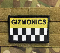 MST 3000 Gizmonic Institute Morale Patch Funny Tactical Military USA flag