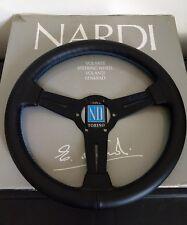 Black Drift Steering Wheel 330mm blue nissan 240sx s13 s14 honda civic AE86 350z