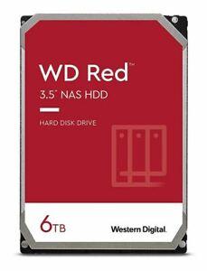 Western Digital WD RED NAS 6TB WD60EFRX - SMART STATUS GUT - NASWARE 3.0