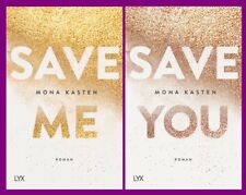 Mona Kasten - Maxton Hall Band 1+2 im Set - Save Me / Save You - Portofrei
