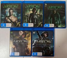 Arrow [DCTV] Season 1,2,3,4,5 Bluray [Region B (Aust)]