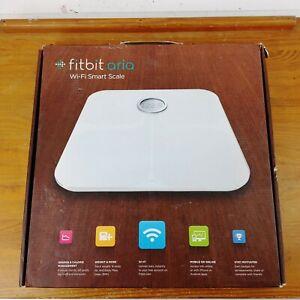 Fitbit Aria (White) Wi-Fi Wireless Smart Scale FB201W New -FAST SHIPPING!