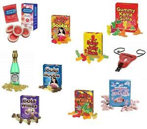 Novelty Fun Gummy Jelly Sweets Xmas Joke Prank Secret Santa Stocking Filler Gift