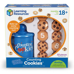 Learning Resources Counting Cookies Set Develop Early Maths Skills 18 Months +