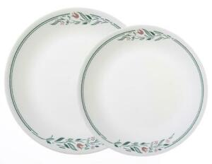 *NEW Corelle ROSEMARIE *Choose 10 1/4 DINNER or 8 1/2 LUNCH Plate TULIPS PINK