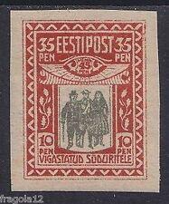 ESTONIA 1920 - PRO MUTILATI - P. 35 - MNH