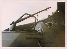 WW2 Militaria Foto Luftwaffe Air Force Flugzeug Doppeldecker MG Gewehr