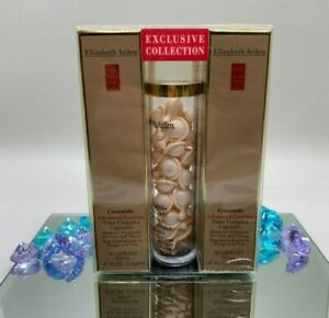 Elizabeth Arden ADVANCED Ceramide Time Complex 90 Capsules SEAL IN BOX -GIFT SET