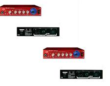 2xSM PRO TC01 12AX7 TUBE PREAMP/MICROPHONE MIC-PRE/COMPRESSOR+VU+48V SMPRO TC-01