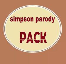 homer simpson parody  pack 5  figures