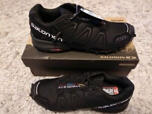 Salomon Mens Speedcross 4 Running Shoes Hiking Trainers Size 7.5 New in Box