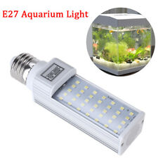 7W E27 LED White Light Bulb Coral Plant Grow Fishpod Fish Tank Aquarium Lamp
