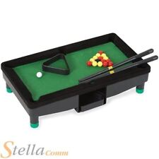 """Desktop Mini 8"""" Tabletop Pool Table Office Gadget Toy Novelty Gift"""