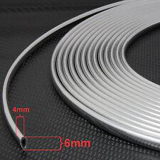 6m Coche Flexible Cromo Borde Moldeo Moldura Para VW Passat B7