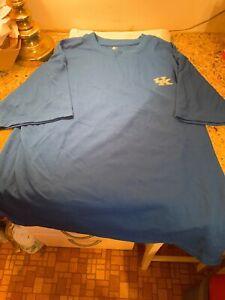 University Of Kentucky Wildcats Logo Starter T-Shirt Size L Lexington SEC Blue
