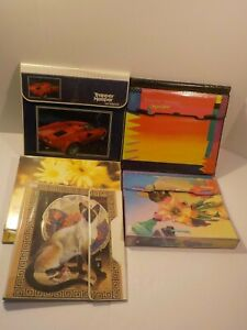 D Vintage 80s MEAD TRAPPER KEEPER THE ULTIMATE LAMBORGHINI CATS Designer X4