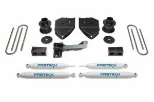"Fabtech 2017-2019 Fits FORD F-250 F-350 4WD 4"" Budget System PERF Shocks K2213"