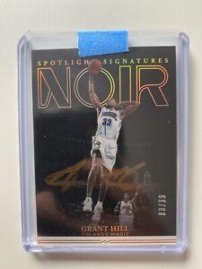 2021 Panini Noir Grant Hill Spotlight Signatures 88/99