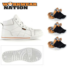 Safety/Work White Industrial Work Boots & Shoes