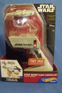 Toys Mattel NIB Hot Wheels Disney Star Wars Flight Controller Millennium Falcon