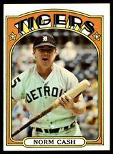 1972 Topps #150 Norm Cash Detroit Tigers High Grade
