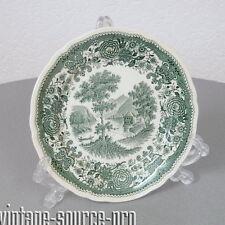 Villeroy & Boch Burgenland Porzellan Kuchenteller Fasan Grün Mettlach 60er Jahre
