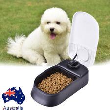 Automatic Pet Feeder Bowl Dog Cat Puppy Food Dispenser Meals Wet Dry Set Time AU