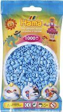 Hama - 207-46 -Sachet 1000 Perles à repasser Bleu Pastel