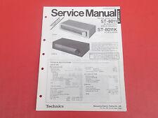 Technics ST-8011 ST-8011K Tuner org. Service Anleitung Manual