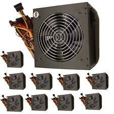 LOT 10PC 450W ATX Computer Power Supply Desktop PC PSU 12V 12CM 120MM Fan Black