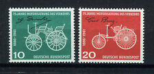 ALEMANIA/RFA WEST GERMANY 1961 MNH SC.840/841 Motorized traffic 75th