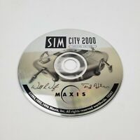 Sim City 2000 Special Edition PC Computer Game Disc ONLY Tested