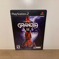 GRANDIA II (Playstation 2) RPG game Complete Rare! PS2 MINT