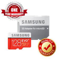 Samsung 128GB EVO Plus + MicroSD SDHC Memory Card with Adapter UK SELLER~>@