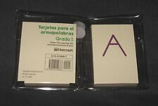 Word Builder Spanish Alphabet Cards - Upper & Lower Case - 66 Cards