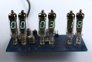 VFD Nixie Uhr Vintage Retro Clock  Bausatz Kit Neu zum selbst bauen