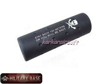 AIRSOFT Stubby Killer 110mm Barrel Extension 14mm CW CCW
