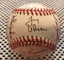 1996 St. Louis Cardinals Team Signed NL Baseball Tony LaRussa Ozzie Smith HOF
