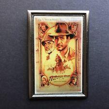 Indiana Jones Poster Pin - Last Crusade Disney Pin 5105