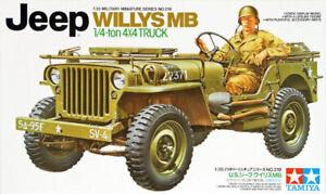 Tamiya 35219 1/35 Military Miniature No219 U.S. JEEP Willys MB 1/4-Ton 4X4 TRUCK