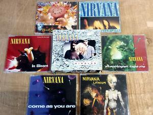 NIRVANA - Singles - Box 6Cd's