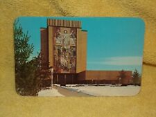 Vintage Postcard Winter At The University Of, Notre Dame, Indiana